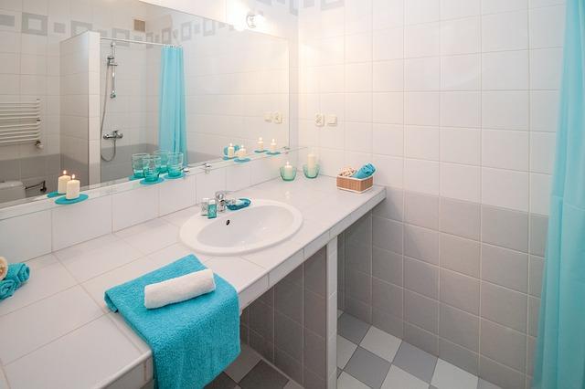 חדר אמבטיה לאחר שיפוץ